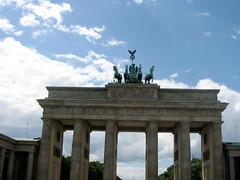 Brandenburg Gate. (Terence Meade) Tags: city berlin germany deutschland gate europe goddess eu brandenburggate victoria quadriga brandenburg europeanunion citygate