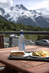 lunch@Mt. Cook Hermitage Hotel