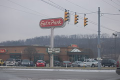 We drove back to Indiana for breakfast (kelly_rae) Tags: eatnpark groundhogday feb2008