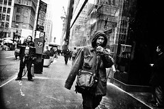 GOING PLACES (joewig) Tags: street nyc people urban blackandwhite bw blackwhite interestingess ricohgrd