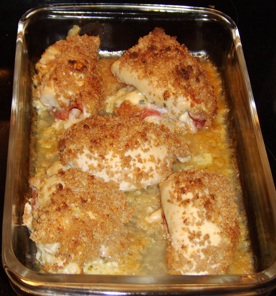 Valentine's Dinner - Chicken Cordon Bleu