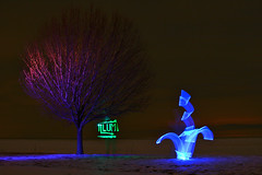 IMG_6844 (illum) Tags: longexposure light ohio art night writing canon graffiti blacklight nophotoshop lightgraffiti vermilion newage lightart lightwriting drawingwithlight illum camerapaintin canonxti illumlight