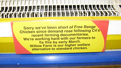 Tesco Sorry about the Chicken