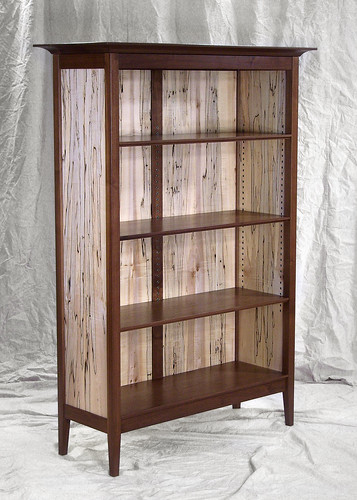 Black Walnut Bookcase