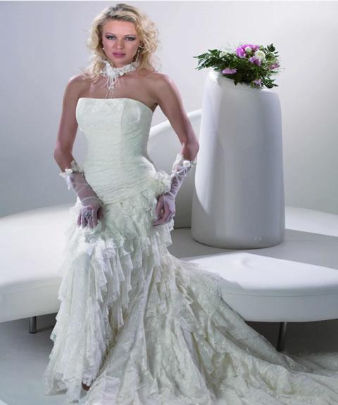 vestidos de novia sencillos. Colección de trajes de novia