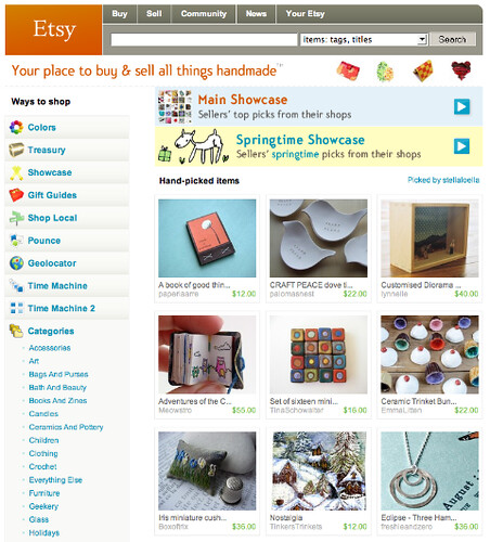 Freshie & Zero on front page of etsy!