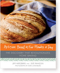 Artisan Bread in Five Minutes a Day by Jeff Hertzberg and Zoe Francois