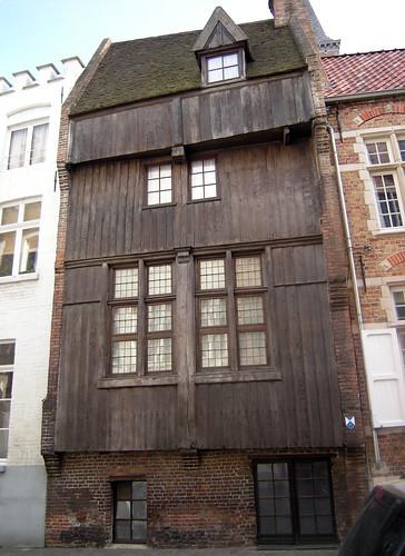 Houten gevel, Brugge