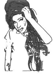 amy winehouse (Reid Harris Cooper) Tags: celebrity art illustration photoshop singer artproject amywinehouse pimple crackhead glicee tracetheline