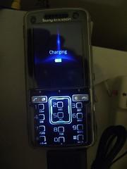 Charging - Sony Ericsson K850i