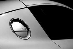 Audi R8 gas cap (j.hietter) Tags: auto california light sports lines car s automotive r audi rs supercar r8 shading