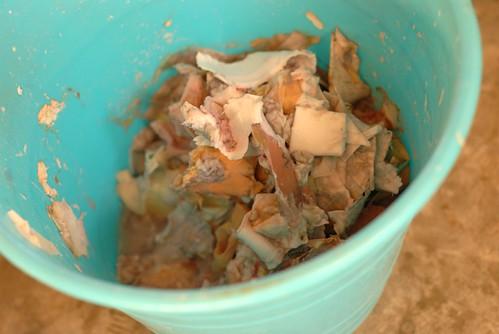 let scrap paper soak