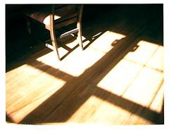 (a.pasquier) Tags: polaroid morninglight spring chair athome landcamera 669film myeverydaylife