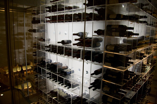 Wine Rack at Aureole