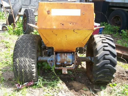 Antique Ford 100 Garden Tractor