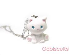 Kitties are cuties (Gabiscuits) Tags: cute kitty kittens gatos polymerclay fimo lolita gato kawaii kitties sculpey collar gatitos arcillapolimerica gabiscuits