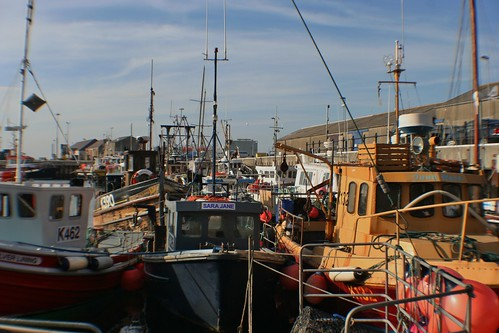 Fishing Boats at Kirkwall Harbour