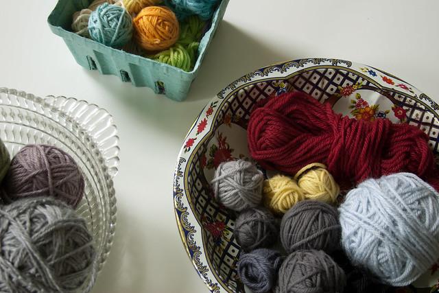 sorting yarn
