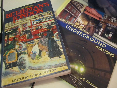 Betjeman's London and London's Disused Underground Stations