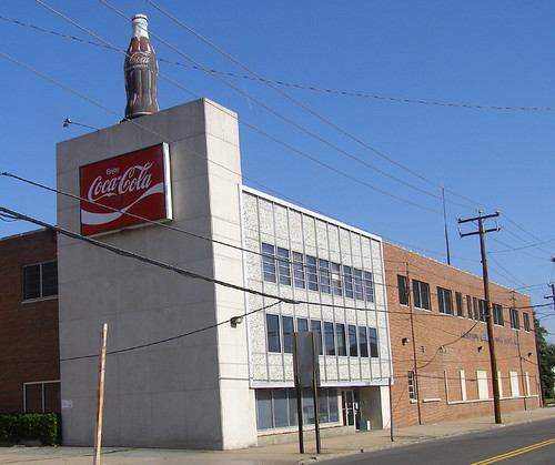 Coca-Cola bottling plant