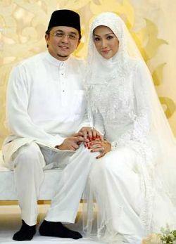 gambar wedding nikah erra fazira