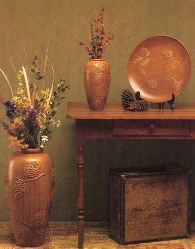 Timberline Vases/Platter
