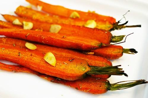 烤親愛的蘿蔔