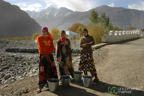 Water Run in the Pamirs