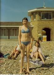 Sarah (Bury Gardener) Tags: uk family friends england beach girl sarah pebbles teen relatives