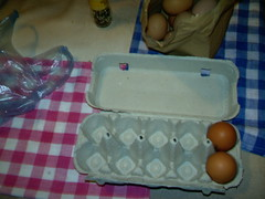 How Americans are used to getting eggs, sort of (Yakima_gulag) Tags: sarajevo eggs howthingscanbedifferent
