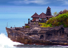 Tanah Lot Temple (tropicaLiving - Jessy Eykendorp) Tags: blue light sea bali seascape beach nature rock indonesia geotagged temple photography coast asia ship shoreline panoramic tanahlot athousandwords platinumphoto tropicaliving goldstaraward hollytemple flickrlovers tropicalivingtropicallivingtropicalliving panasoniclumixdmcfz8panasoniclumixdmcfz8 jessyce geo:lon=115157318 geo:lat=8817225