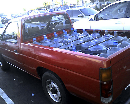 Bottled Water Truck