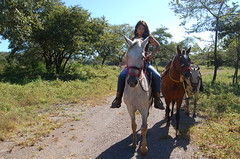 Morning Ride. (Blackstallionhills.com) Tags: ranch horses woman costa black home girl real model estate rica hills stallion guanacaste blackstallionhillscom