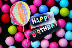 Happy Birthday Kiwi (S) Tags: birthday colors grass happy balloon balls kiwi