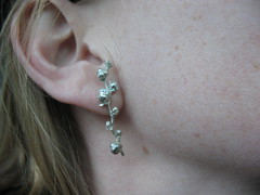 Score!  My new earrings