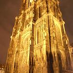 Strasbourg: Cathédrale Notre Dame de nuit