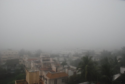 Chennai under Fog