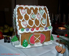Gingerbread House (Michael Pancier Photography) Tags: christmas xmas holidayparty gingerbreadhouse fineartphotography officeparty naturephotography señor naturephotographer floridaphotographer michaelpancier michaelpancierphotography wwwmichaelpancierphotographycom señorcohiba