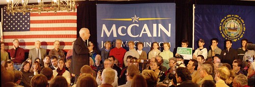 Panoramic from John McCain @ VFW hall