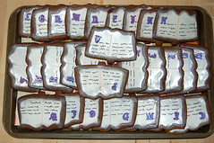 Cookies Codex by Janet Fryberger at Seattle Edible Book Festival
