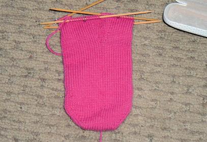 Heart Socks for Ivy