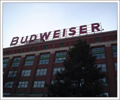 Budweiser packaging plant in St. Louis. by whatsthediffblog, on Flickr