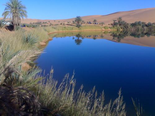 SAHARA Gabr Oun lake by letmgkfree.