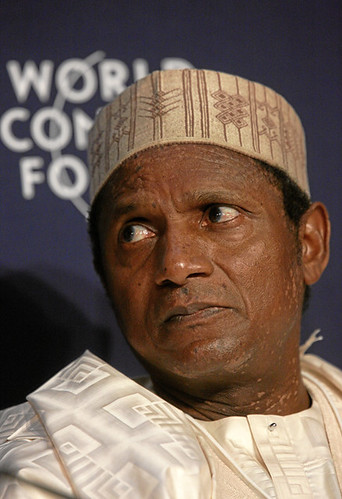 Yar' Adua - World Economic Forum Annual Meeting Davos 2008 by World Economic Forum.