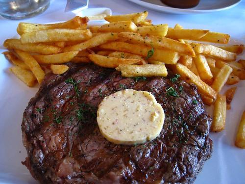 Rib-Eye Steak @ Les Bouchons.JPG
