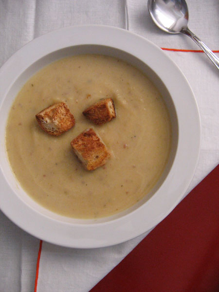 turnip soup (2nd try)