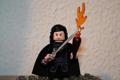Aragorn, Weathertop style by Mr Spielbrick.