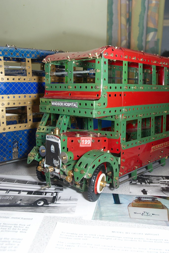 Meccano model of Leyland