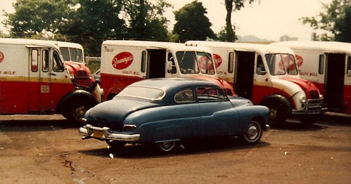 Dad's Merc @ the dairy by phillyhillbilly52