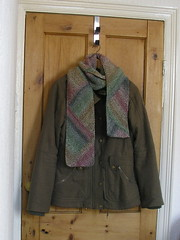 Multidirectional diagonal scarf